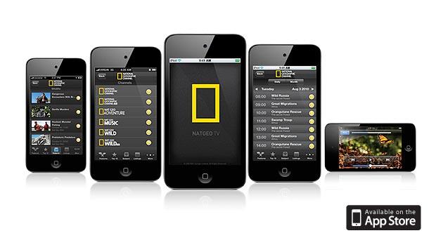 Nat Geo TV iPhone app