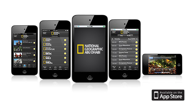 Nat Geo TV iPhone app