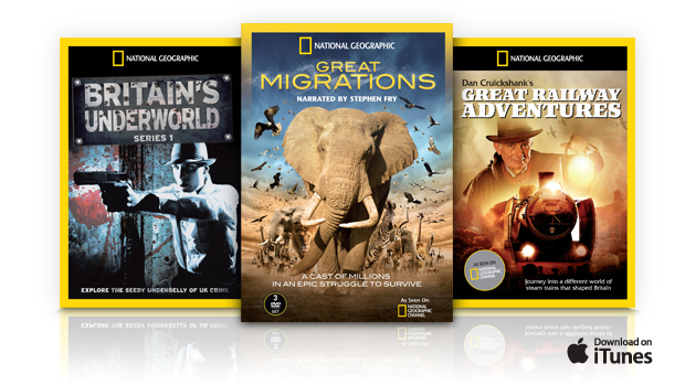 Nat Geo TV iTunes DVD