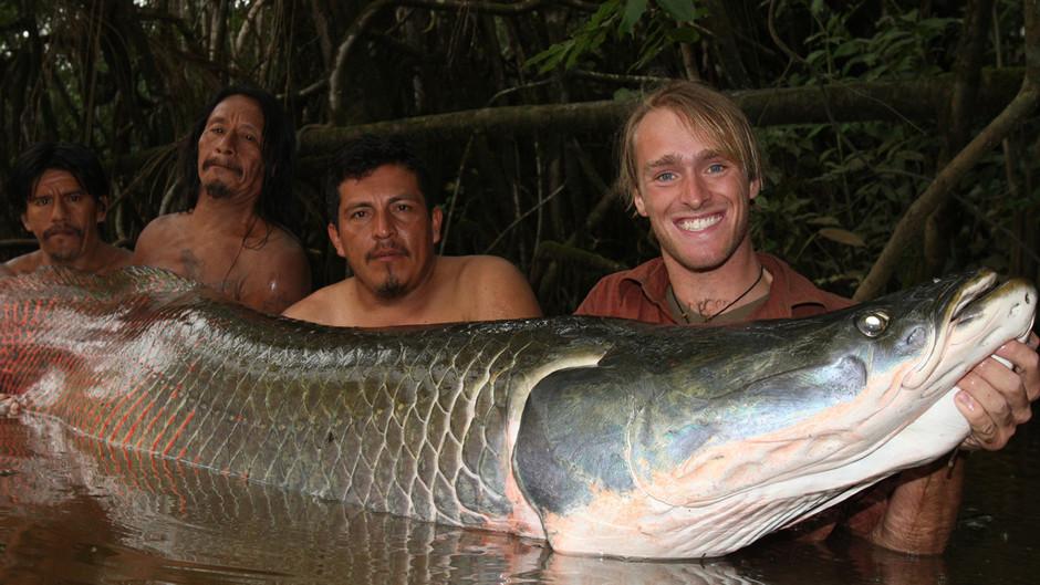 экстремальная рыбалка на амазонке