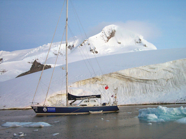 Mission Antarctica & Yacht 2041 in the Ice of Antarctica