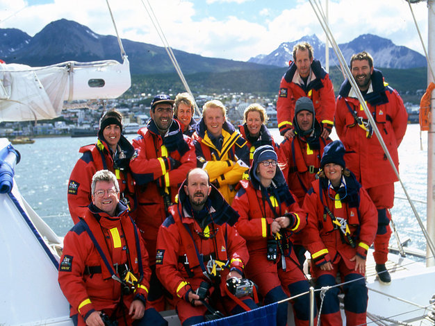 The Crews of Yacht 2041 with Mission Antarctica were from 19 different countries