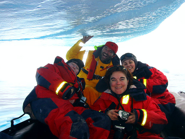 The Young Crew on Yacht 2041 with Mission Antarctica