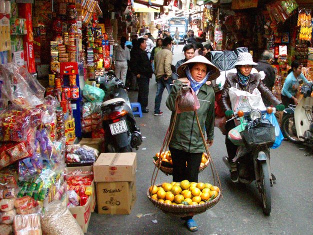 Hanoi Markets - Vietnam