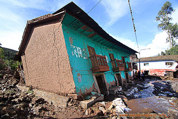 Peru Floods Jan 2010 - Lucre, Near Cusco