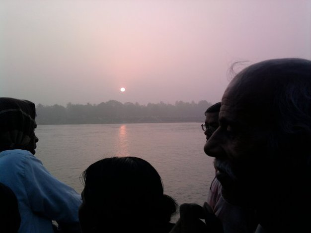 Sunrise at Mother Ganges