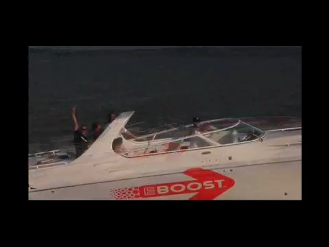 Behind the scenes of a Fountain speed boat scene in Knockout