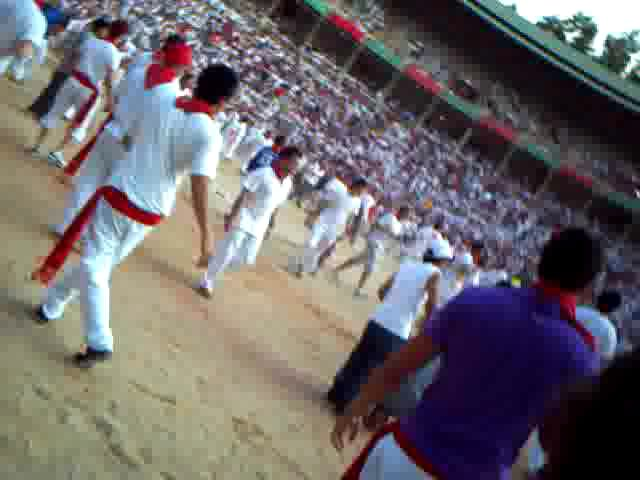 The Running of the Bulls,San Fermin,Pamplona,Spain
