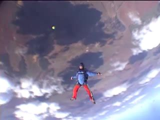 First Woman to Skydive Everest