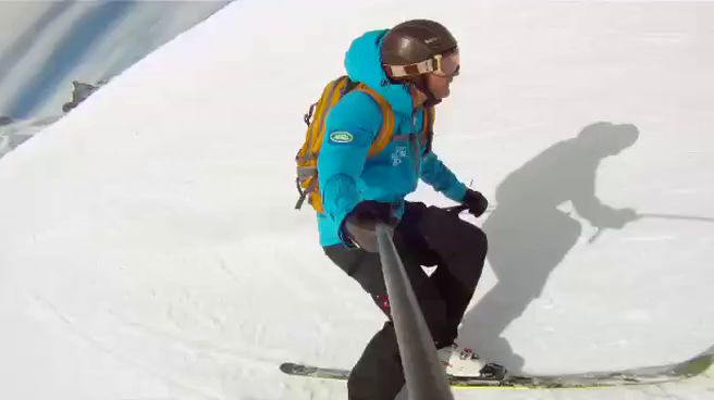 Royal Wedding ski tips with Graham Bell