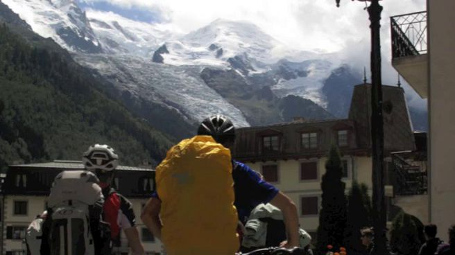 Tour del Monte Bianco in mtb